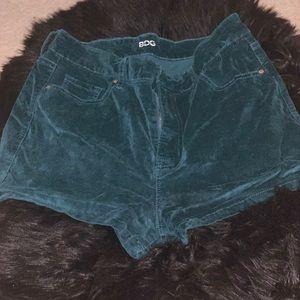 Pants - Bdg Suede shorts